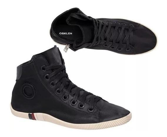 Sapato Bota Tênis Osklen Arpoador Soft Original Todo Preto