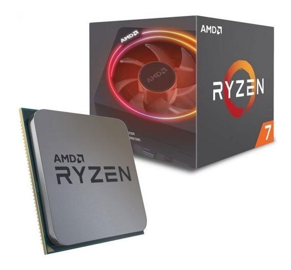 Processador Amd Ryzen 7 2700x Am4 Cooler Wraith - Oferta