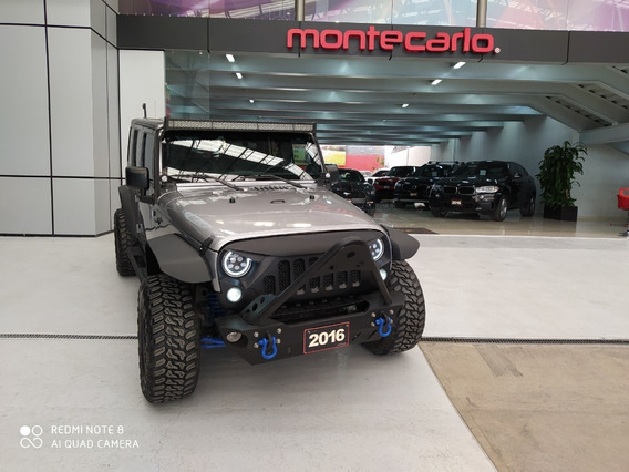 Jeep Wrangler Unlimited 2016 Gris