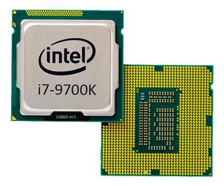 Procesador Intel Core i7-9700K 8 núcleos 128 GB