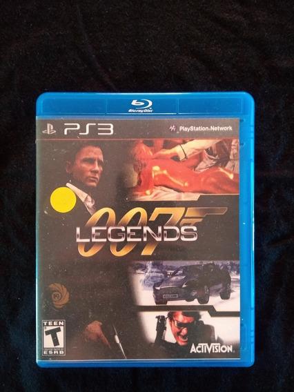 Jogo 007 Legends Para Ps3 Playstation 3