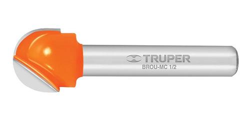Broca Router Media Caña 1/2' Truper 11462