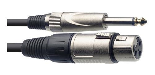 Cable Para Micrófono 6m Canon-plug Stagg Smc6xp