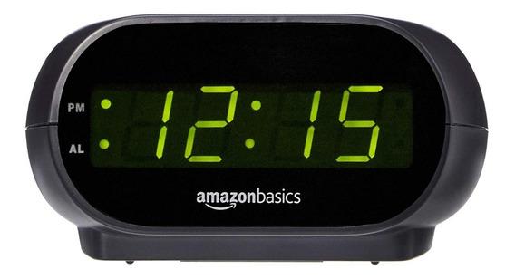 Reloj Despertador Con Luz Nocturna Y Batería De Respaldo
