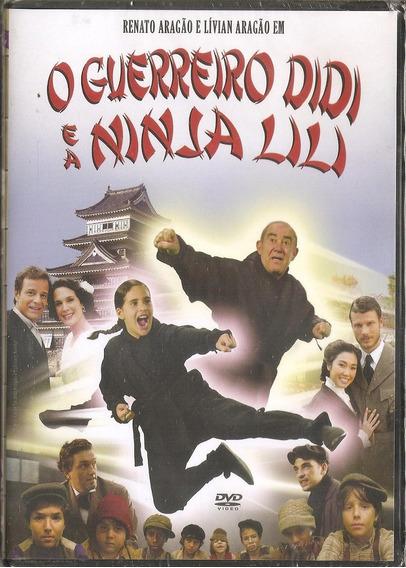 Dvd O Guerreiro Didi E Ninja Lili - Renato Aragao Trapalhoes