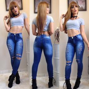 Calca Jeans Feminina Skiny Lançamento Roupas Femininas 2018