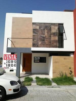 (crm-5190-426) Casa En Venta En Residencial Britania La Calera Puebla