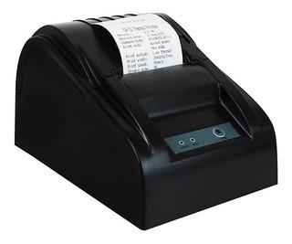 Impresora Térmica Zkteco Zkp5802usb Para Terminal 58mm