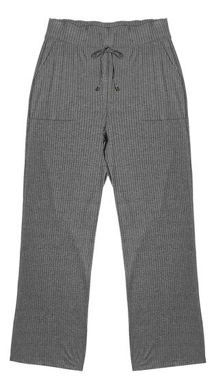 Calça Feminina Pantalona Rovitex Cinza