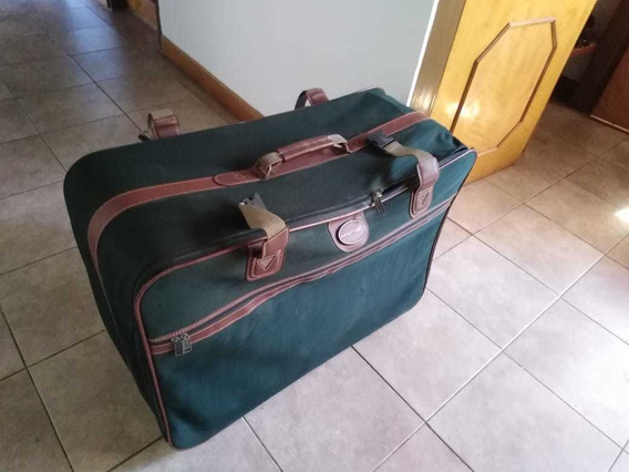 Maleta Vintage Verde, Marca Air Express En Buen Estado