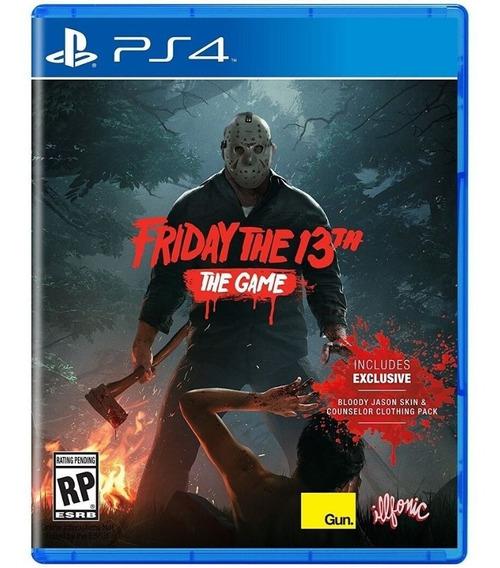 Friday The 13th Ps4 - Envío Gratis Nuevo