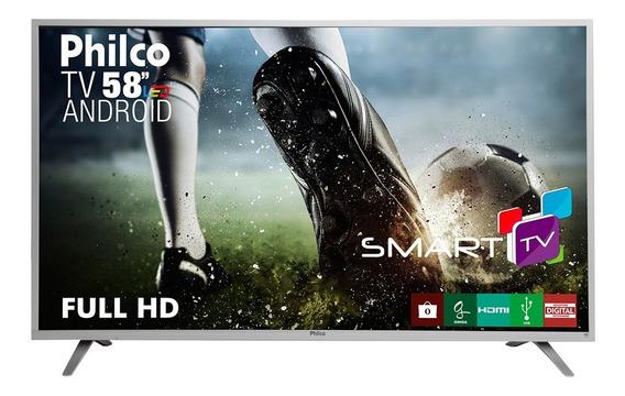 Smart Tv Led 58 Full Hd Philco Ph58e20dsgwas Com Android