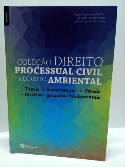 Livro Direito Processual Civil E Direito Ambiental