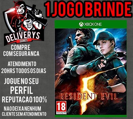 Resident Evil 5 Xbox One Midia Digital + 1 Brinde