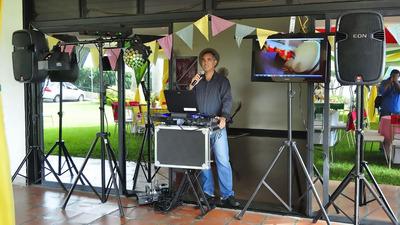 Alquiler De Sonido Profesional Para Eventos Fiestas Karaoke