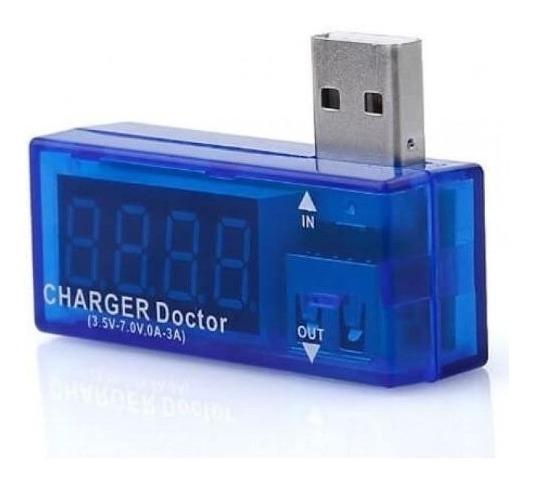 Kit 4 Testador De Voltagem E Amperagem P/ Porta Usb