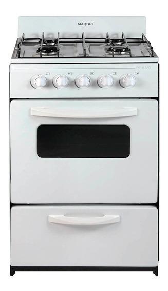 Cocina Martiri New Lujo 4 Hornallas, 51 Cm, Gas Envasado. Argsale