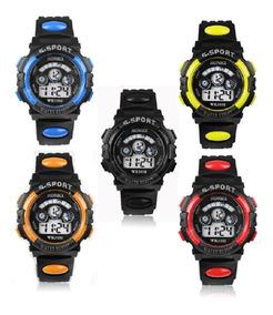 Relógio Pulso Digital Led Infantil Atacado Kit C/ 10 Und