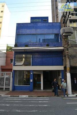 Prédio Comercial Para Venda E Locação, Centro, Santo André. - Pr0001