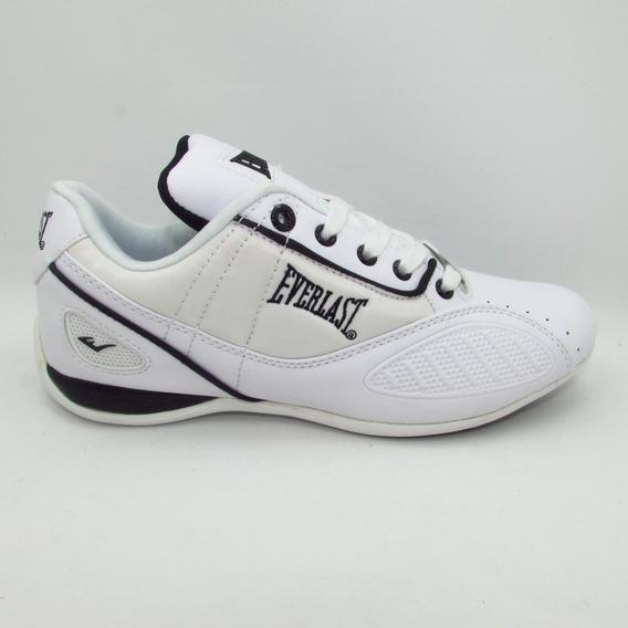 Tenis Everlast El-1521 Punch1 Blanco Negro