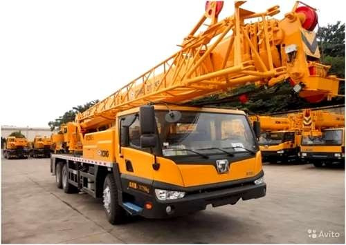 Grua Sobre Camión Xcmg Qy25br ( Brasilera) Nueva Sin Uso.