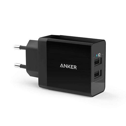 Carregador Parede 24w Anker Powerport 2x Usb Power Iq 2.0