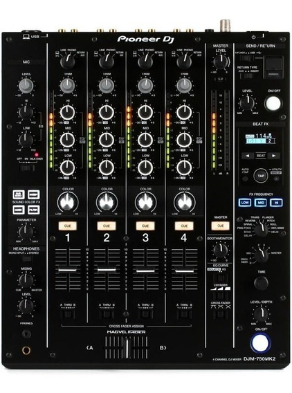 Mixer Pioneer Djm-750mk2 À Pronta Entrega