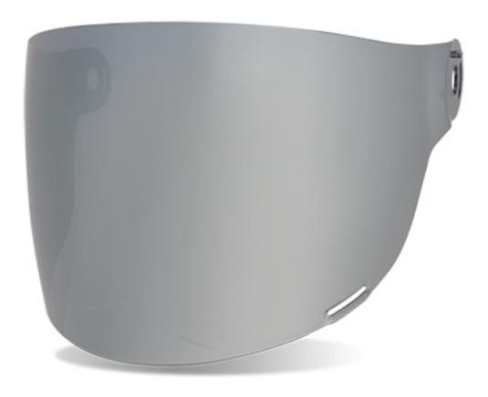 Viseira Flat Para Capacete Bell Bullitt Prateada Original