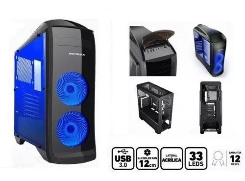 Pc Gamer Core I5 9400f 9º Geração 8gb Ssd 240 Gt1030 Novo!