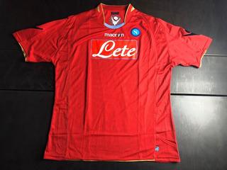 Camisa Napoli 2009-2010 Third Tam Gg (77x59)