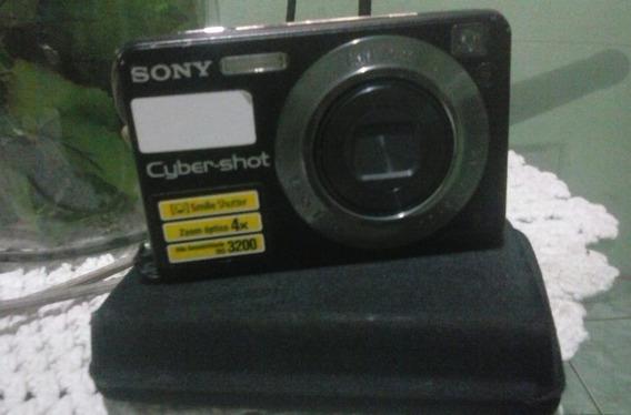 Camera Digital Sony Dsc W110 7.2mp + Capa