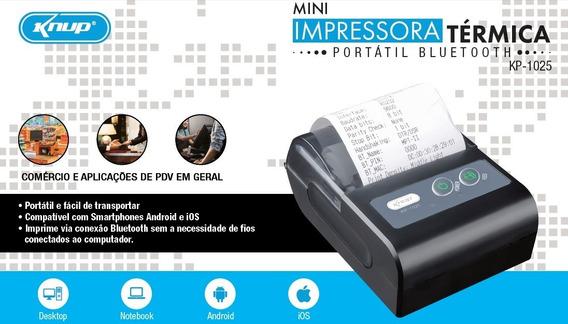 Impressora Térmica Bluetooth Usb Fiscal Pdv Pc Android Ios