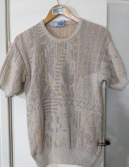 Sweater Hilo Mujer Sergio Mauro M Impecable