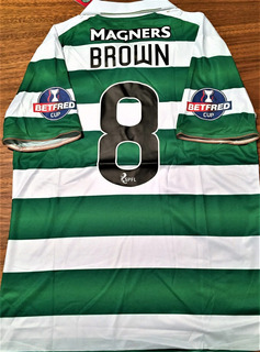 Camisa Glasgow Celtic Final Copa Da Escócia 2016 Completa