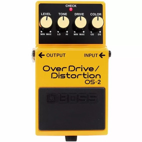 Pedal Boss Os-2 Guitarra Distorção Overdrive Distortion Os2