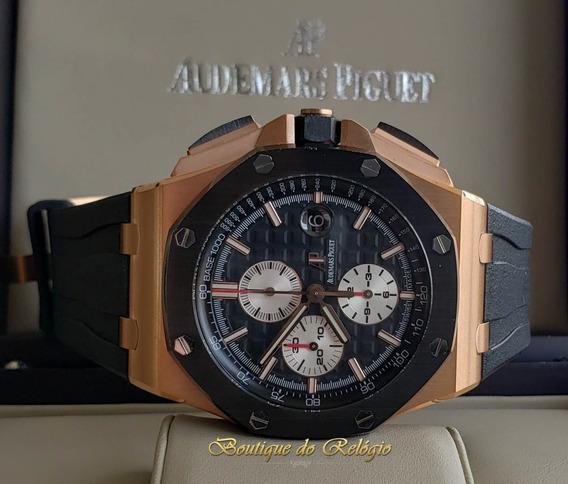 Relogio Modelo Cronograph Gold - 44mm