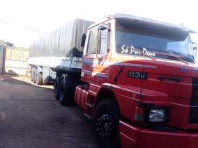 Scania 113 360 Ano 93 Carreta Guerra 98 Graneleira