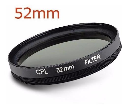 Filtro Polarizador Cpl Para Lentes 52mm 55mm 58mm
