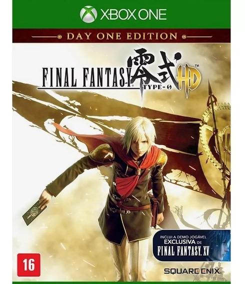 Final Fantasy Type-0 Hd - ( Mídia Física ) Lacrado Xbox One