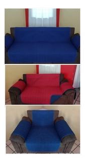 Cubre Sala Protector Dos Vistas 3 Piezas (3-2-1).