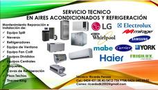 Servicio Técnico Refrigeración Aire Acondicionado/neveras