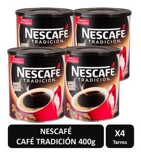 Cafe Nescafe Tradicion 400g X4