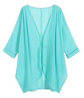 Capa Estilo Kimono Para Dama Ligero Estampados Elegantes