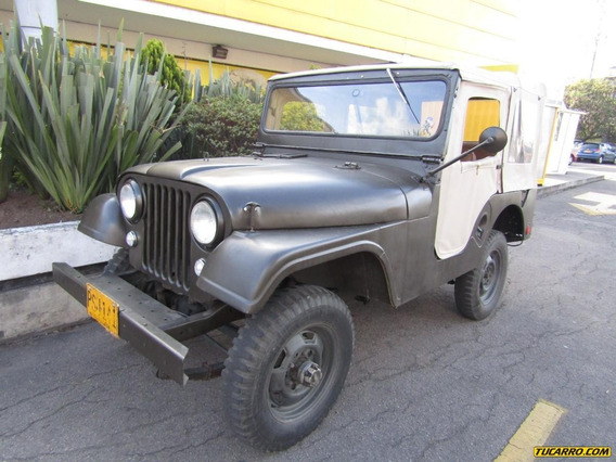 Jeep Willys Cj4 1200cc 4x4