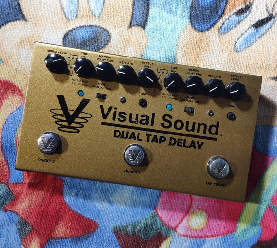 Visual Sound Dual Tap Delay - Willaudio