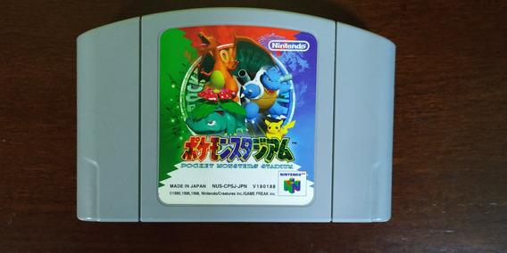 Cartucho Pokémon Stadium 64 Japonês Original