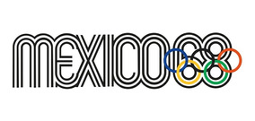 Playera Mexico 68 Con Aros Olímpicos En Color - Envío Gratis