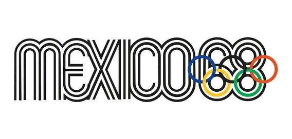 Playera Mexico 68 Con Aros Olímpicos En Color