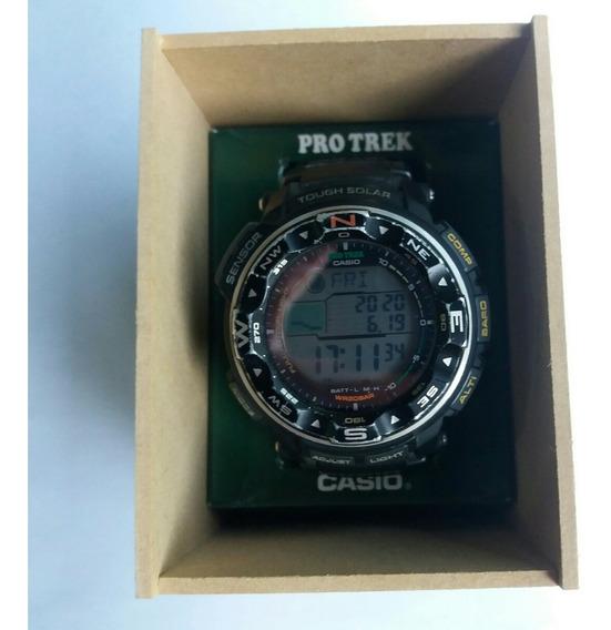 Relógio Casio Pro Trek / Modelo Prg 250 - 1dr / Semi Novo