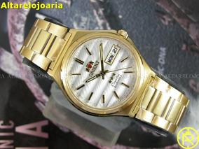 Relógio Orient Automático Clássico Aço Fab02003w9